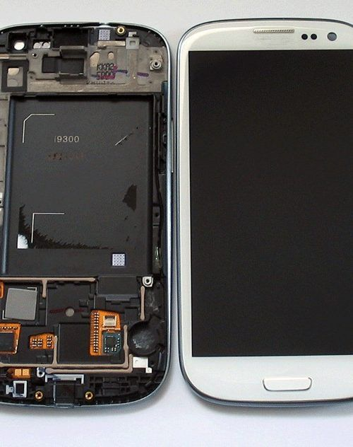Samsung galaxy S3 i9300 Lcd Assembly With Frame